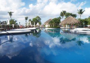 subtropisch zwembad paradijs