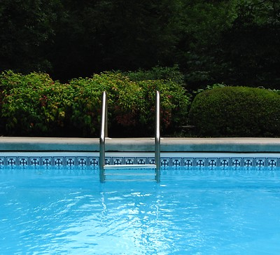 zwembad ladder